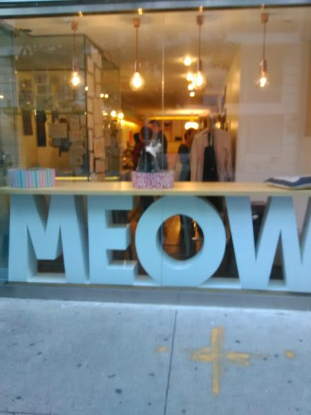 Meow Parlour Store Front